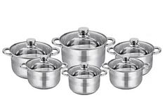 Набор посуды из нержавеющей стали для всех типов плит Rainberg RB-606