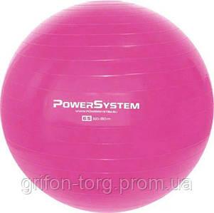 М'яч для фітнесу і гімнастики Power System PS-4012 Pro Gymball 65 cm Pink