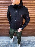 Мужская куртка Korol' Lev Pobedov (черная)