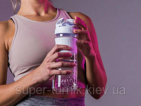 Спортивна пляшка-шейкер BlenderBottle SportMixer Twist 820ml White (ORIGINAL), фото 3