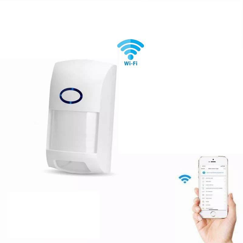 Беспроводной инфракрасный Wi-Fi детекторы движения. Датчик охранной сигнализации. Tuya/Smart Life