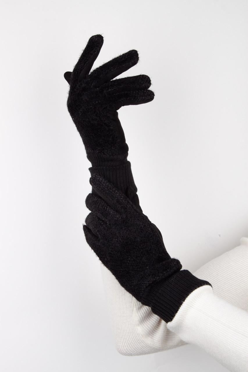 Перчатки FAMO Женские перчатки Блум черные L L (261055fу)