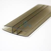 Профиль соединительный CARBOGLASS 4-6 мм прозрачный