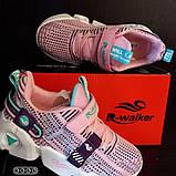 Кроссовки розовые . Стильные модные кроссовки., фото 9
