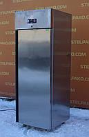 Холодильный глухой шкаф из нержавеющей стали «Desmon BM 7», (Италия), полезный объем 700 л., Б/у
