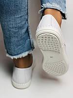 24pfm. Женские кеды кроссовки. Натуральная кожа. Белые с перфорацией. Размер 36.37.38.39.40.41. Супер комфорт, фото 4