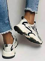 Стильні жіночі кеди-кросівки білі з перфорацією.Туреччина.Натуральна шкіра. 36-39 Vellena, фото 9