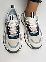 Стильні жіночі кеди-кросівки білі з перфорацією.Туреччина.Натуральна шкіра. 36-39 Vellena, фото 3