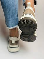 Farinni. Женские кроссовки натуральная кожа плюс текстиль. Размер 38 Vellena, фото 8