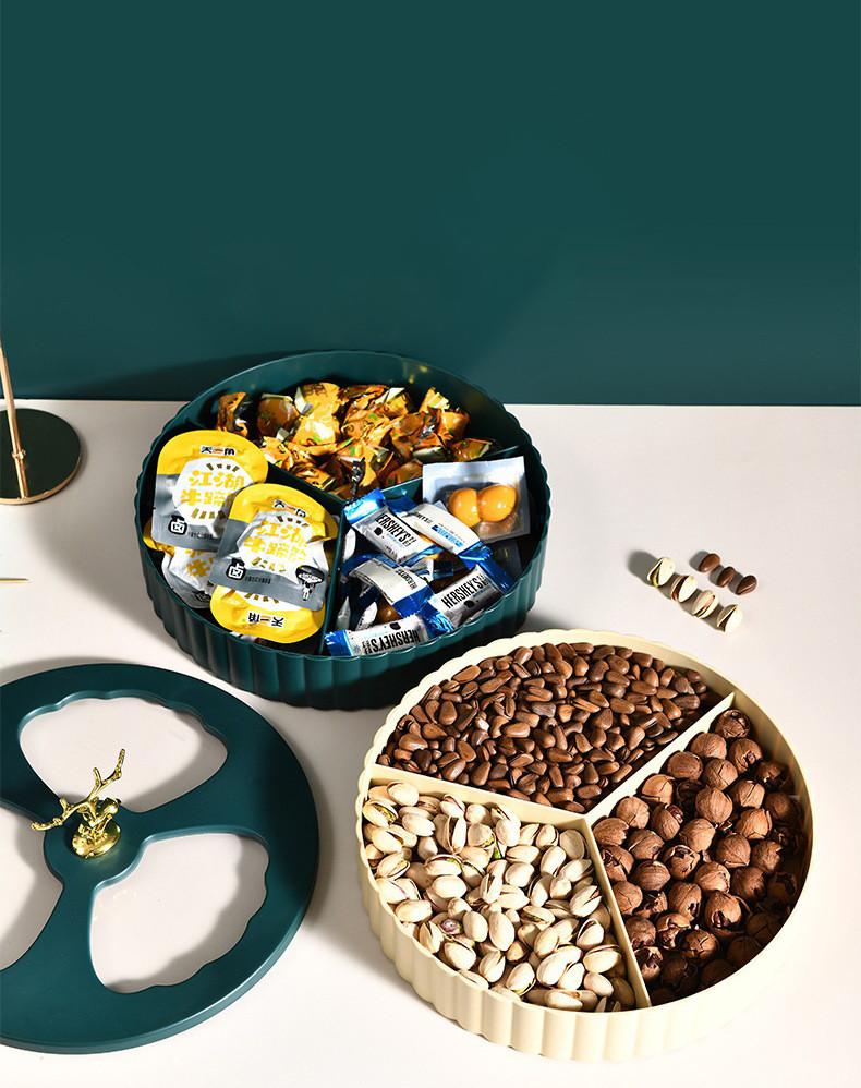 Тарелка для хранения орехов и конфет. Модель RD-10845