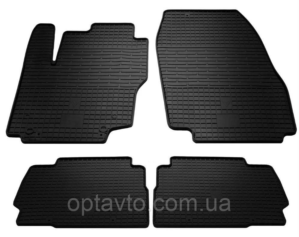Килимки в салон для Ford Mondeo 07-14/S-max 07- (4 шт) 1007074