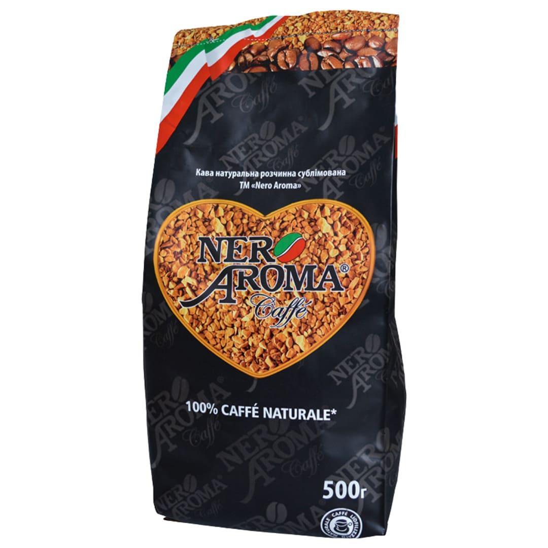 Кофе растворимый сублимированный Nero Aroma 500 г.