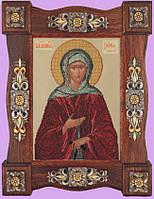Набор для вышивания бисером икона Святая Ксения