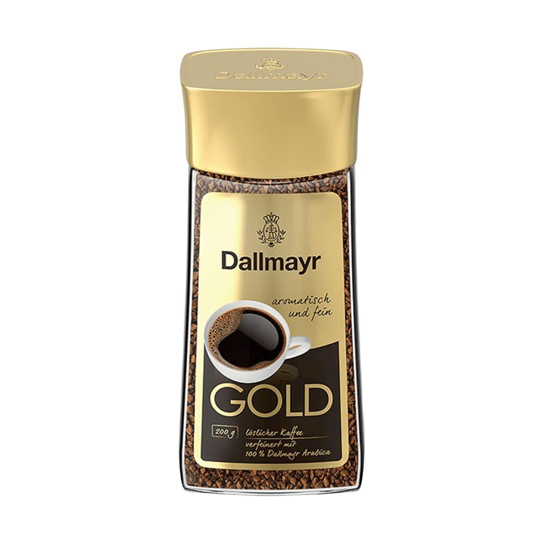 Кофе растворимый сублимированный Dallmayr Gold 200г