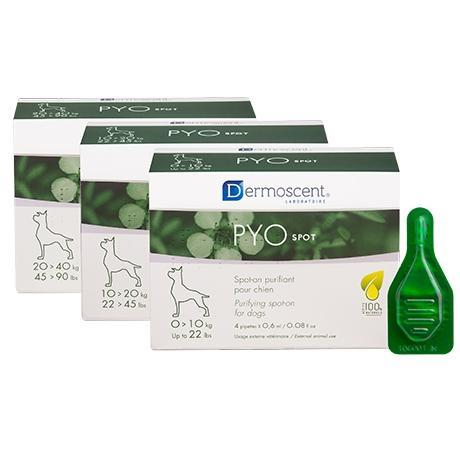PYOspot® for dogs 10-20 кг - очищ.контроль шкір.інфекцій (4х1,2 мл)