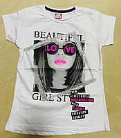Підліткова футболка для дівчинки Love розмір 9-12 років, колір уточнюйте при замовленні, фото 1