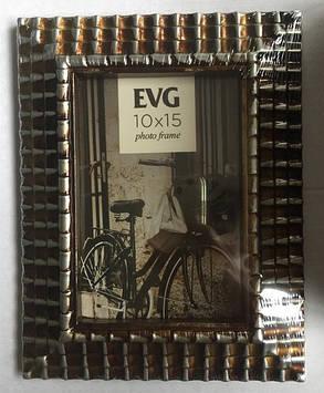 "Фоторамка сувенір. ""EVG FRESH"" 10х15 №2001-4 silver"