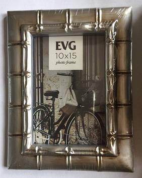 "Фоторамка сувенір. ""EVG FRESH"" 10х15 №2007-4 silver"