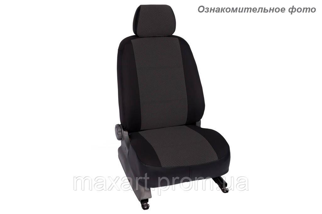 Чехлы салона Renault Logan/Sandero II 2014- (зад. сид. 60/40) Жаккард /черные