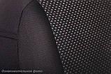 Чехлы салона Renault Logan/Sandero II 2014- (зад. сид. 60/40) Жаккард /черные, фото 6