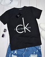 Женская футболка Calvin Klein (Кельвин Кляйн)