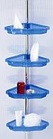 Полка угловая для ванной телескопическая Prima Nova N17-23