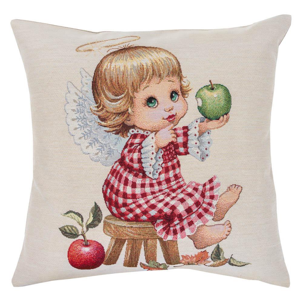 Наволочка гобеленовая декоративная односторонняя Limaso Ангел ангелок 45х45 см на декоративную подушку