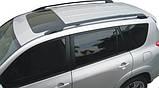 Рейлинги Тойота RAV4 2006-2012 (черные), 63401-42050-C0, фото 6