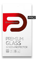 Захисне скло ArmorStandart Pro для Samsung A02 Black (premium glass)