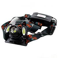 Ліхтар налобний світлодіодний Headlight BL-862 T6 COB ліхтарик