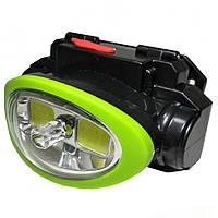 Ліхтар налобний з лазером світлодіодний Bailong BL-936 COB ліхтарик
