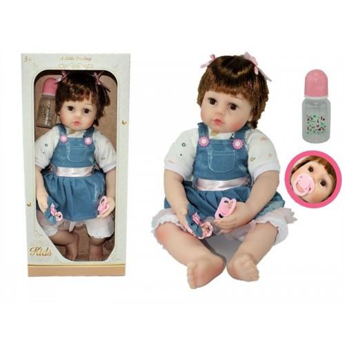 Детская виниловая кукла высота 60 см Reborn AD8809-C3