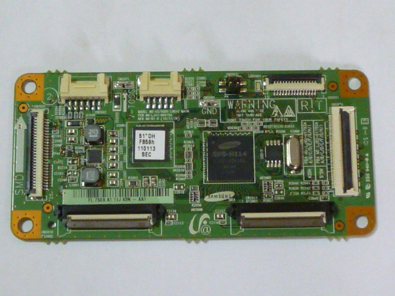 Плата logic control LJ41-09475A REV: R1.6 від PDP ТЕЛЕВІЗОР Samsung PS51D450A2WXXH