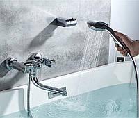 Смеситель для ванны SANTEP 11345 c коротким поворотным носом, фото 1