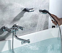 Змішувач для ванни SANTEP 11345 c коротким носом поворотним, фото 1