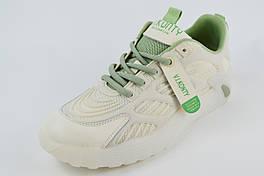 Кроссовки женские V.I.konty 52851 37 Молочно-зеленые