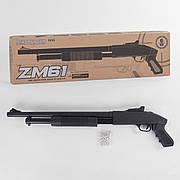Игрушечный винчестер CYMA ZM 61 (помповое ружьё) на пульках
