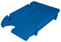 Лоток горизонтальний Economix E80600 пластик 1шт Чорний, Синій, Димчастий