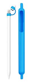 Чехол DK Silicone Case Loop для Apple Pencil (sky blue)