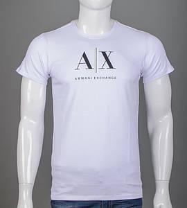 Футболка чоловіча Armani (2106м), Білий