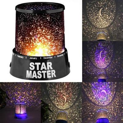 Лазерный проектор Star Master Звездное небо 2-х режимный