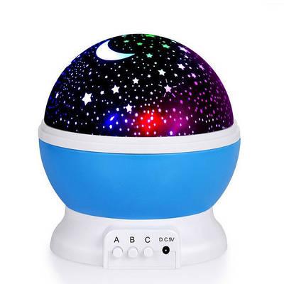 Детский ночник звездного неба Star Master Dream Rotating Blue (hub_np2_1414_2)
