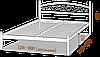 Ліжко металеве Вероніка Метал-Дизайн / Metall Design, фото 5