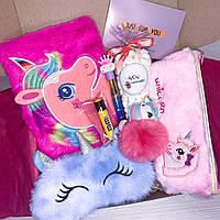 "Подарочный бокс для девочки WowBoxes ""Unicorn Box #18"""