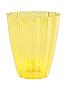 Кашпо для орхидей РОМАШКА 1,5 Л * желтый *
