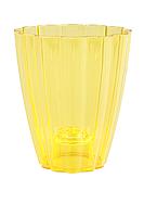 Кашпо для орхидей РОМАШКА  желтый 1,5  Л