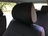 Чехлы на сиденья Пежо Партнер (Peugeot Partner) модельные MAX-N из экокожи, фото 2