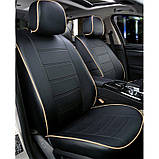 Чехлы на сиденья Фиат Кубо (Fiat Qubo) модельные MAX-N из экокожи, фото 9
