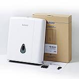 Диспенсер настенный для бумажных полотенец Z-сложения Rixo Maggio P138W, фото 4