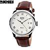 Классические часы SKMEI 9058 серебристая оправа